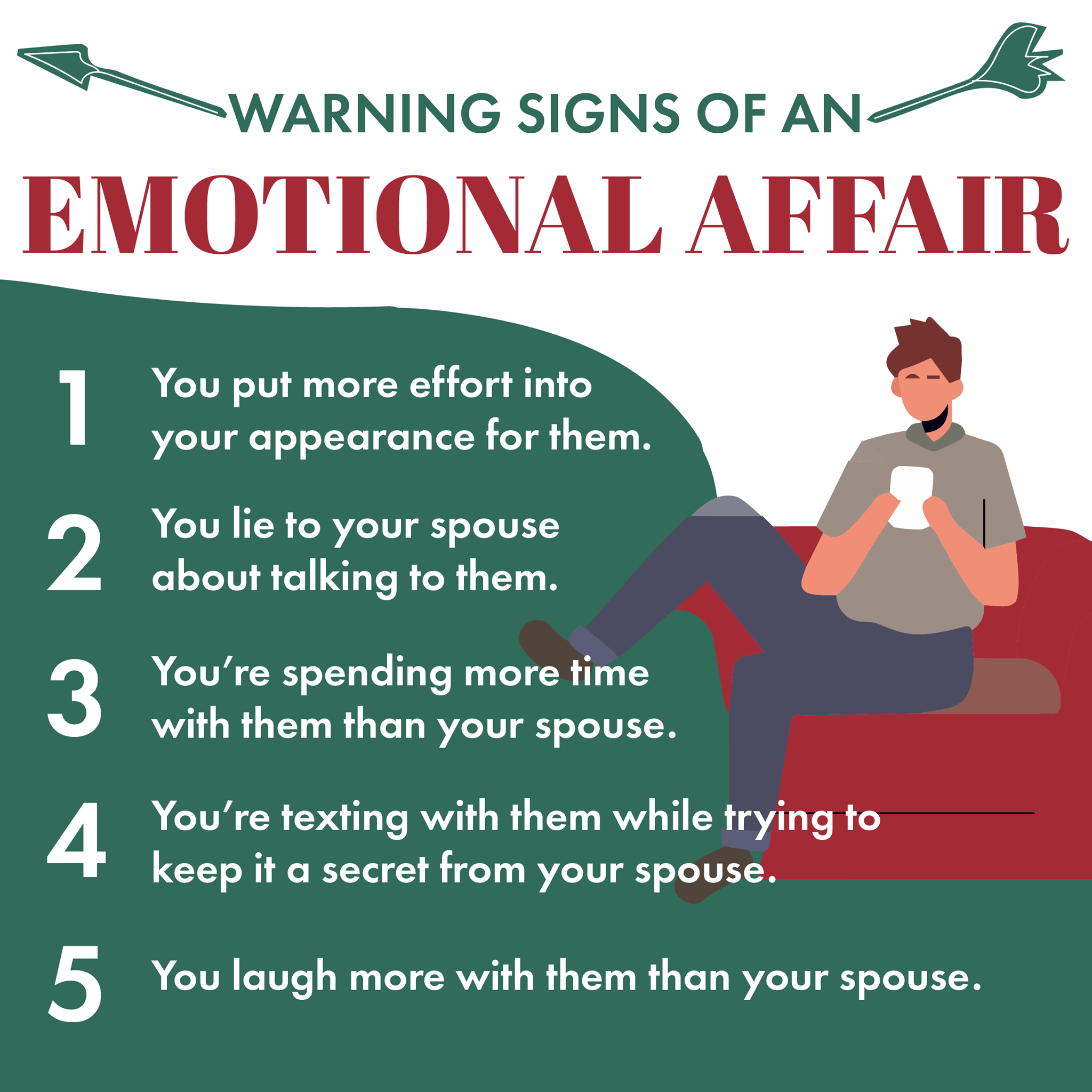 Warning Signs of an Emotional Affair - First Things First
